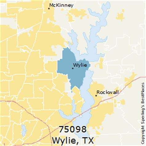 wiley texas map best places to live in wylie zip 75098 texas