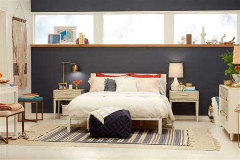 blue brown master bedroom like the accent wall but in a accent walls in girls bedroom wall mounted platform master