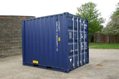 10 Ft Conex Box For Sale - new or used shipping containers sea cans conex boxes