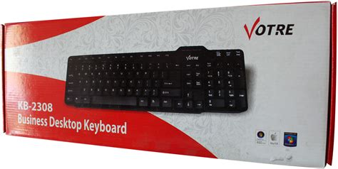 Keyboard Komputer Merk Komic keyboard votre kb 2308 harga keyboard komputer