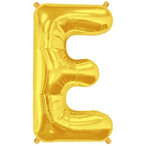 Gold Foil Balloon B letter e gold foil balloon shape b 34 quot the bazaar