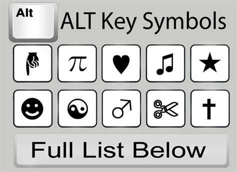 Keyboard Shortcut For Heart Symbol