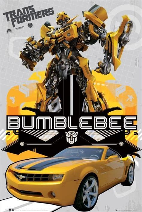 transformers bumblebee 2 poster sold at ukposters