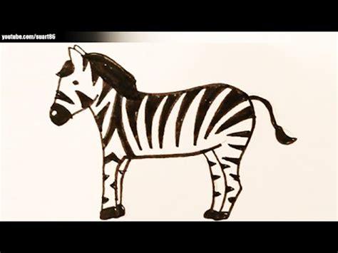 imagenes de cebras para dibujar faciles como dibujar una cebra youtube