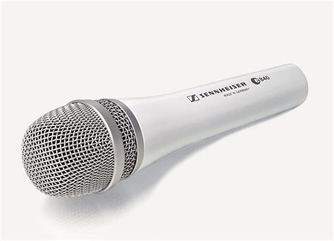 Mic Shure Ur12d White Edition Wireless Microphone sennheiser e840 white evolution series dynamic cardioid