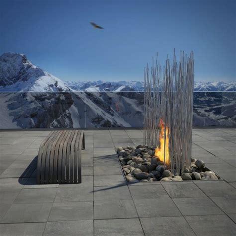 feuerstelle dachterrasse 66 fantastische feuerstelle designs zum nachbauen