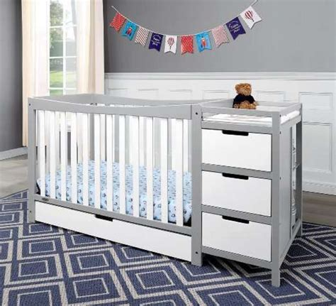Changing Table Attached To Crib Graco Remi 4 In 1 Convertible Crib Review Baby Sleep