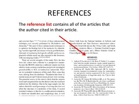 Sections Of An Article by Parts Of A Scholarly Article