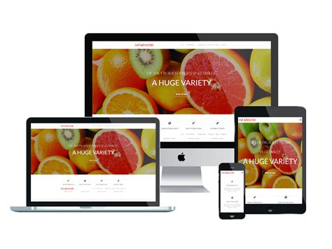 theme wordpress agriculture free lt agriculture onepage free single page responsive
