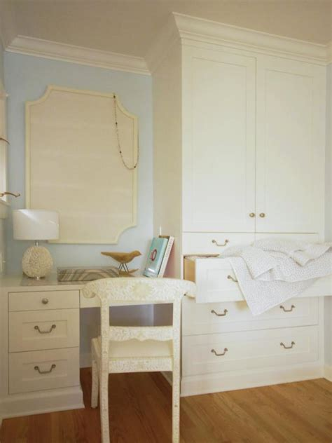built in desk in bedroom bedroom with built in desk and wardrobe hgtv