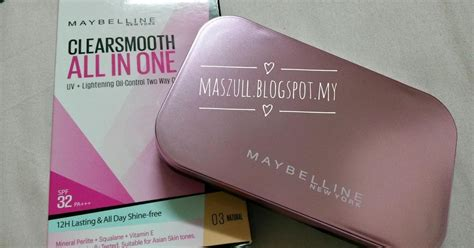 Bedak Maybelline Pink maybelline clearsmooth all in one maszull