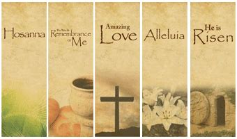 catholic easter banners festival collections