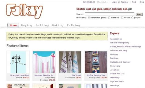 Handmade Websites Like Etsy - 10 great websites to buy handmade goods