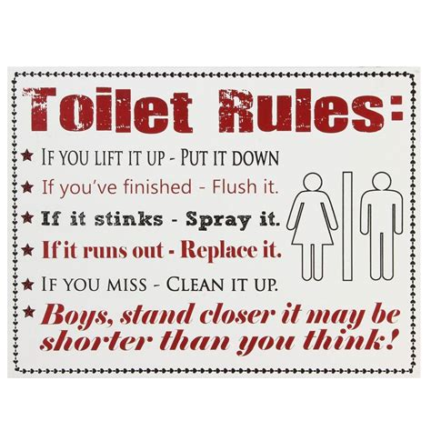 men bathroom rules toilet rules wooden sign modern bathroom toilet decoration plaque sign ebay