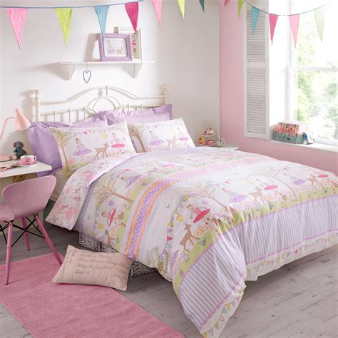 girls quilt bedding darcey bussell childrens girls bedding ballerina duvet cover quilt cover ebay