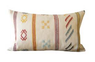 mid century moroccan pillow at 1stdibs