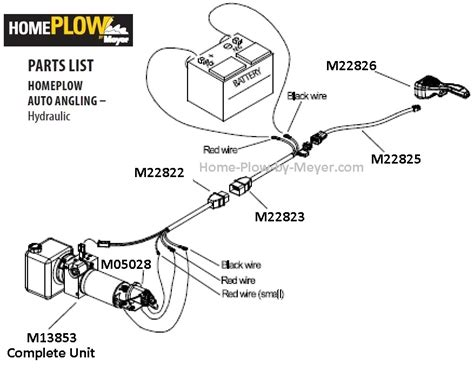 meyers plow wiring diagram meyers wiring diagram