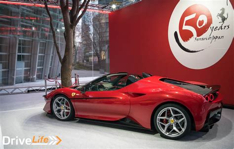 ferrari j50 ferrari celebrates 50 years in japan with j50 drivelife
