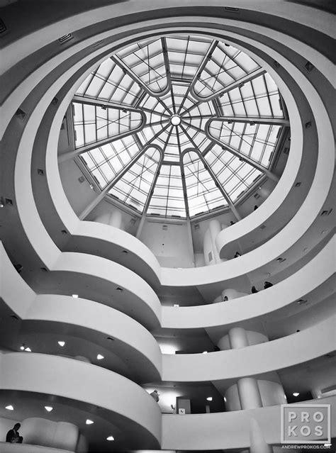 guggenheim museum interior iii new york architectural