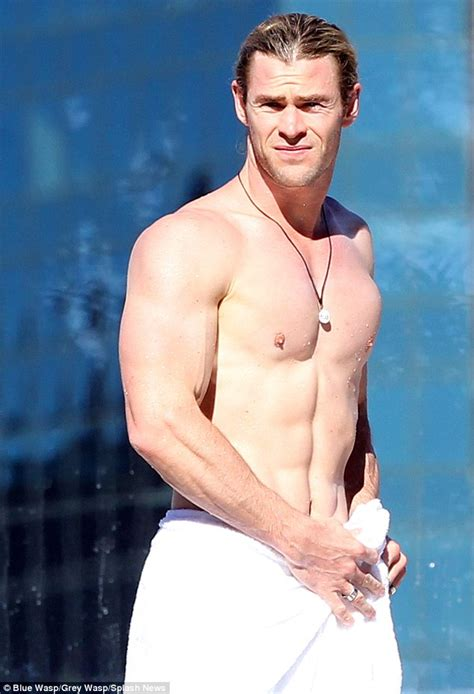 2015 hottest man a look back at chris hemsworth s career before he was