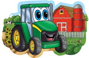 johnny tractor on the farm floor puzzle ebay