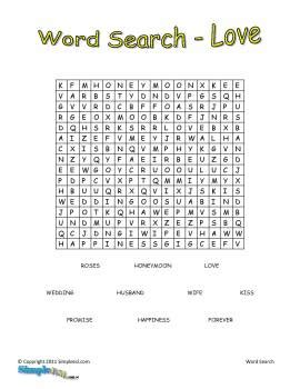Best Images Of Printable Love Word Search Puzzles Love