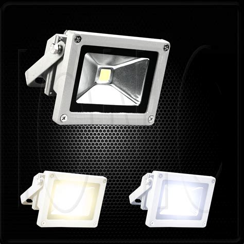 120v Led Landscape Lighting 10w 120v Led Flood Light Day Outdoor Landscape Garden L Cool Or Warm White Ebay