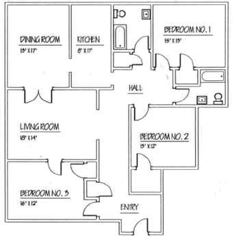 3 bedroom floor plan with dimensions 1150 sq ft home plans popular house plans and design ideas