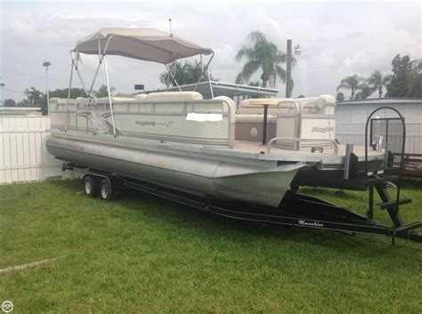 pontoon boats for sale fort myers 2000 used playbuoy marquise 2727 pontoon boat for sale