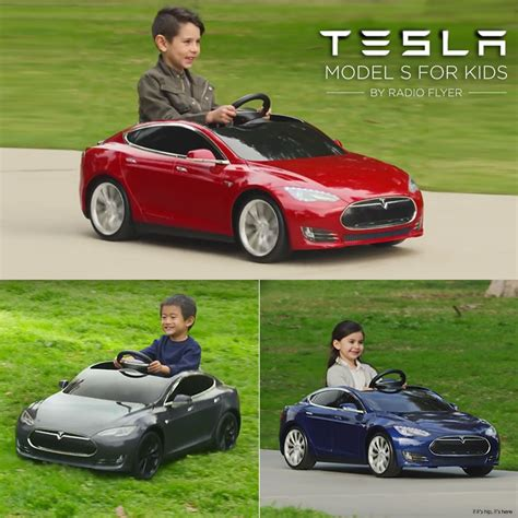 radio flyer launches the tesla s model for if it s
