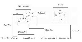 wiring diagram how to automotive relay wiring diagram work interesting white wire pinout