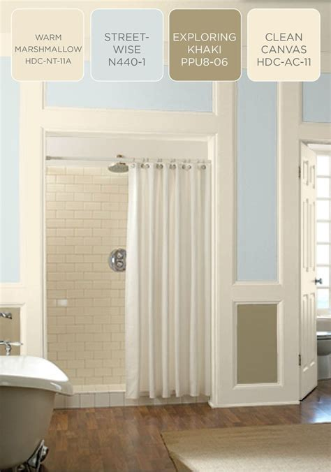 are you looking for a light and airy color palette to finish your bathroom renovation try