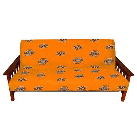 Nfl Futon Covers by Oklahoma State Cowboys Size Futon Cover