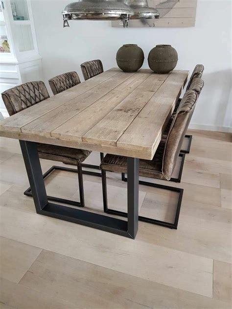 mesa comedor estilo industrial salon en  mesas de