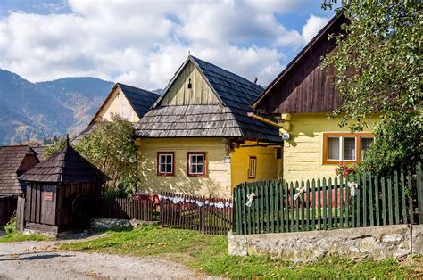 traditional european houses traditional village life in vlkolinec slovakia travel