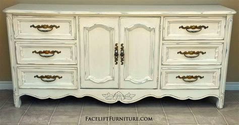 White Refinished Dresser by White Refinished Furniture Facelift Furniture