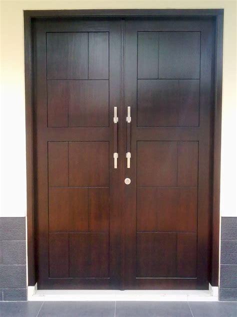 desain pintu depan rumah minimalis modern contoh desain model pintu rumah minimalis modern