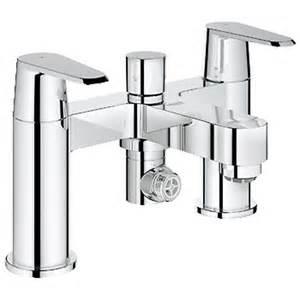 Grohe Bath Shower Mixer Grohe Eurodisc Cosmopolitan Chrome Bridge Bath Shower