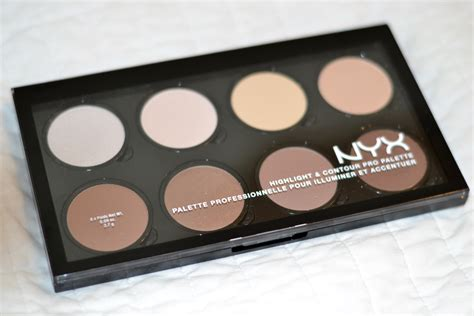 Nyx Highlight And Contour Powder the cheap and easy way to contour with nyx highlight