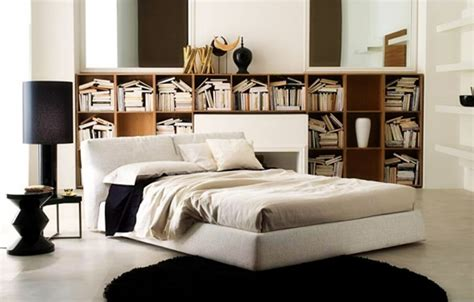 floating shelves the bed furniture ideas