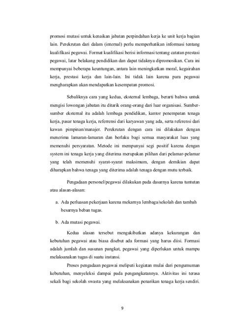 format makalah lelang jabatan makalah manajemen tenaga kependidikan