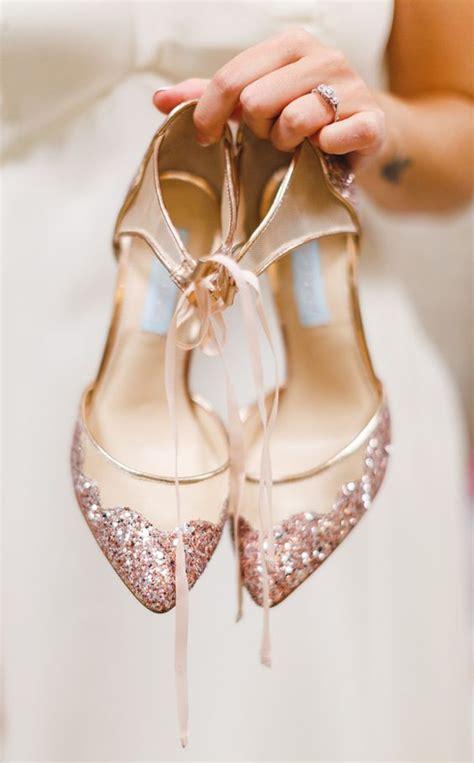 wedding shoes gold color 40 gold metallic wedding color ideas gold