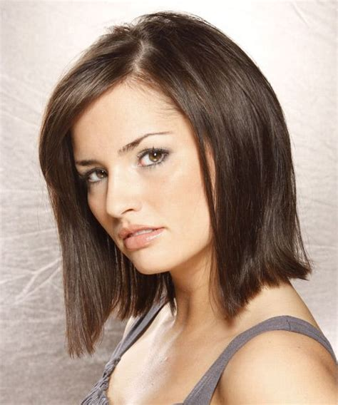 brunette bob hairstyles pinterest medium bob hairstyle straight casual dark brunette
