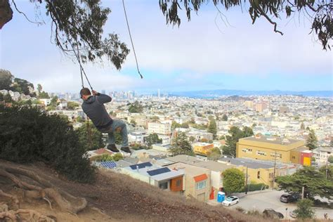 sf swing bird nest on the ground swinging on quot billy goat hill