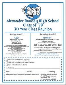 class reunion invitation templates invitation template
