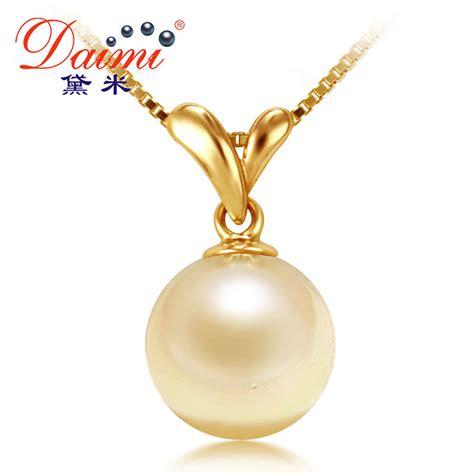How To Buy Gold Jewelry 2 by Aliexpress Buy Daimi Akoya Pearl Necklace 100