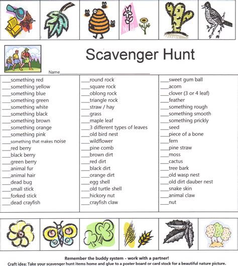 On The Hunt For by Cing Scavenger Hunt Pictures To Pin On