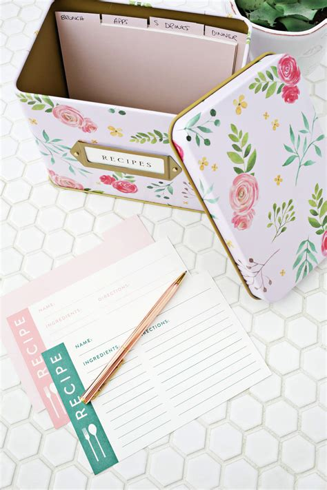 beautiful printable recipe cards print your own recipe cards a beautiful mess