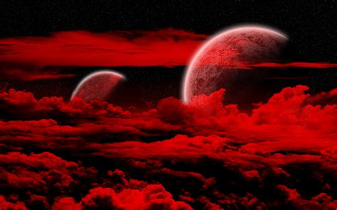 red and black design black planets wallpaper 7 cool hd wallpaper