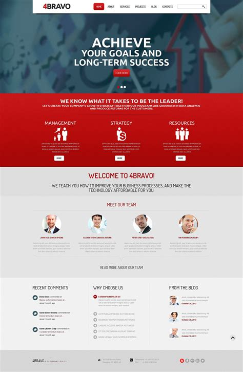 drupal templates management company drupal template 47584